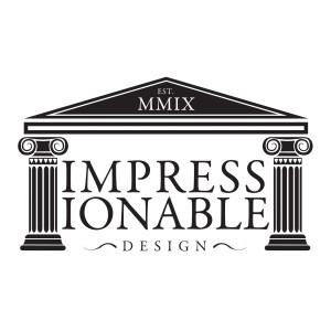 Impressionable design Logo