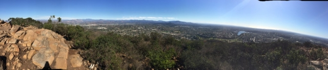 Cowles Mountain, CA